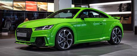 Extravaganta celor de la Audi pentru noul TT-RS. Nu, nu a suferit o supradoza de raze gama