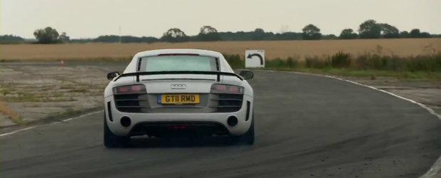 Extremul Audi R8 GT ajunge pe mana britanicilor de la Autocar - VIDEO