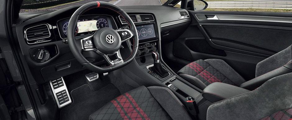 Fa cunostinta cu noul VW Golf GTI TCR, un hot-hatch cu pedigree de curse si 290 de cai pe puntea fata