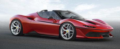Fa cunostinta in premiera cu noul Ferrari J50
