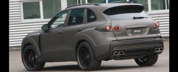 FAB Design modifica noul Porsche Cayenne, transforma SUVul german intr-un mutant genetic