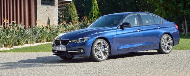 Facelift pentru BMW Seria 3 F30 si F31. Cum arata noile modele