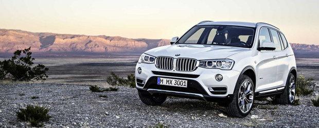 Facelift pentru BMW X3. Cum arata noul model