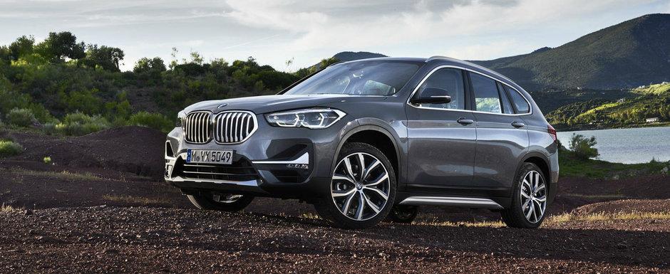 FACELIFT pentru cel mai accesibil SUV din gama BMW. Versiune plug-in hybrid oferita in premiera