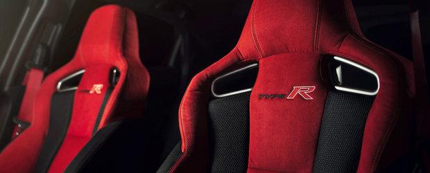 Facelift pentru CIVIC TYPE R. Imbunatatirile pregatite de Honda pentru hot-hatch-ul cu 320 CP