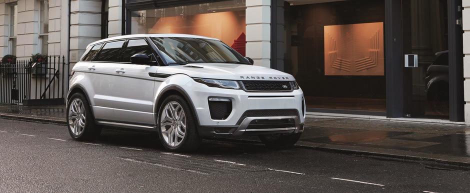Facelift pentru Range Rover Evoque. Noul model consuma 4.2 litri la 100 km