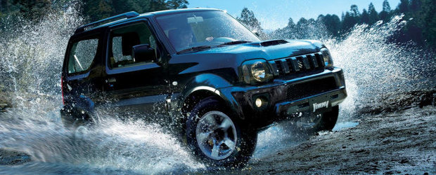 Facelift pentru Suzuki Jimny