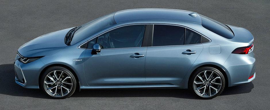 Familia COROLLA este acum completa. Toyota tocmai a lansat versiunea SEDAN, disponibila cu doua motorizari