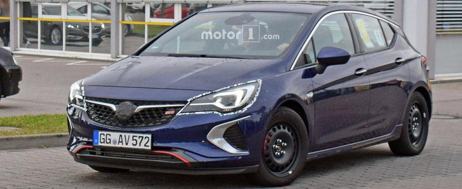 Familia GSi se mareste. Opel pregateste un Astra de 230 de cai care sa poarte celebra emblema