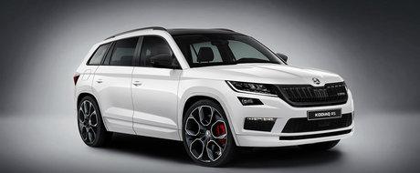 Familia Skoda RS se mareste in 2018. SUV-ul Kodiaq va primi o versiune de performanta