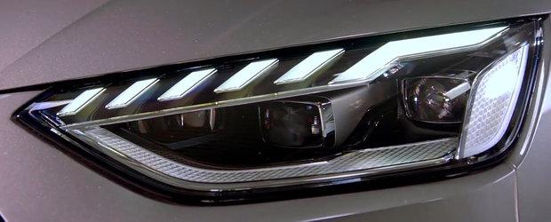 """Fanii au avut un soc la vederea noului Audi A4. """"Zici ca e noul A1!"""""""