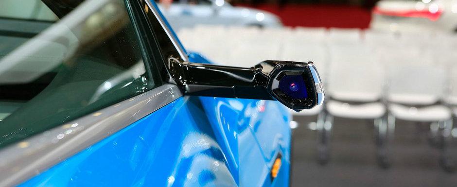 Fanii au luat cu asalt noul Audi e-tron. Toti au fost atrasi de CAMERELE VIDEO care inlocuiesc oglinzile laterale