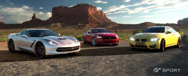 Fanii jocurilor video o vor lua razna la vederea acestor imagini. Cum arata cel mai nou titlu din seria Gran Turismo