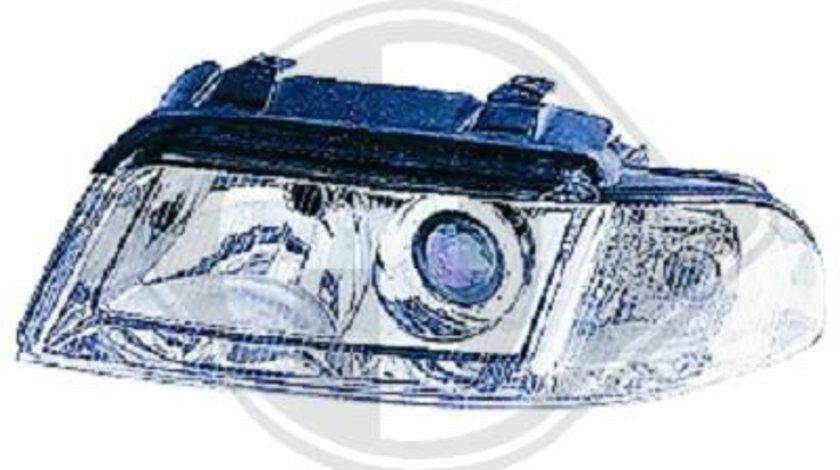 FAR CLAR AUDI A4 B5 STANGA FUNDAL CROM -COD 1016183