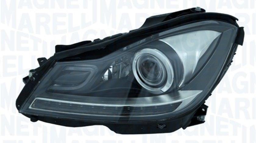 Far dreapta (D1S/H7/LED, reglaj electric cu motoras, bixenon, cu iluminare in viraje,) MERCEDES Clasa C 2007-2013