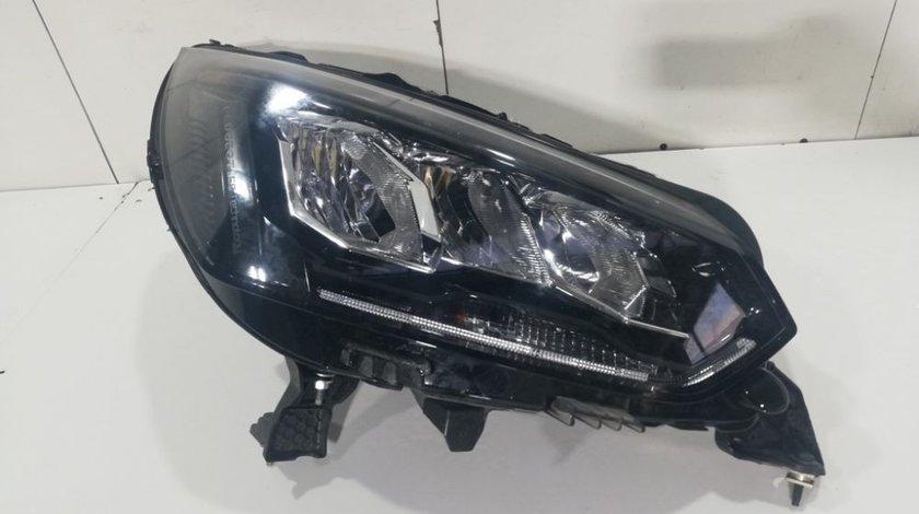 Far dreapta FULL LED Peugeot 208 LED TECHNOLOGY An 2020 2021 cod 9833036180 reparata la toate clemele