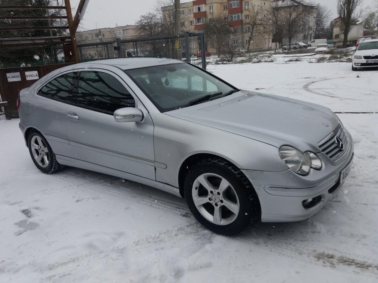 Far dreapta Mercedes C-CLASS Coupe Sport CL203 2005 coupe 1.8 kompressor