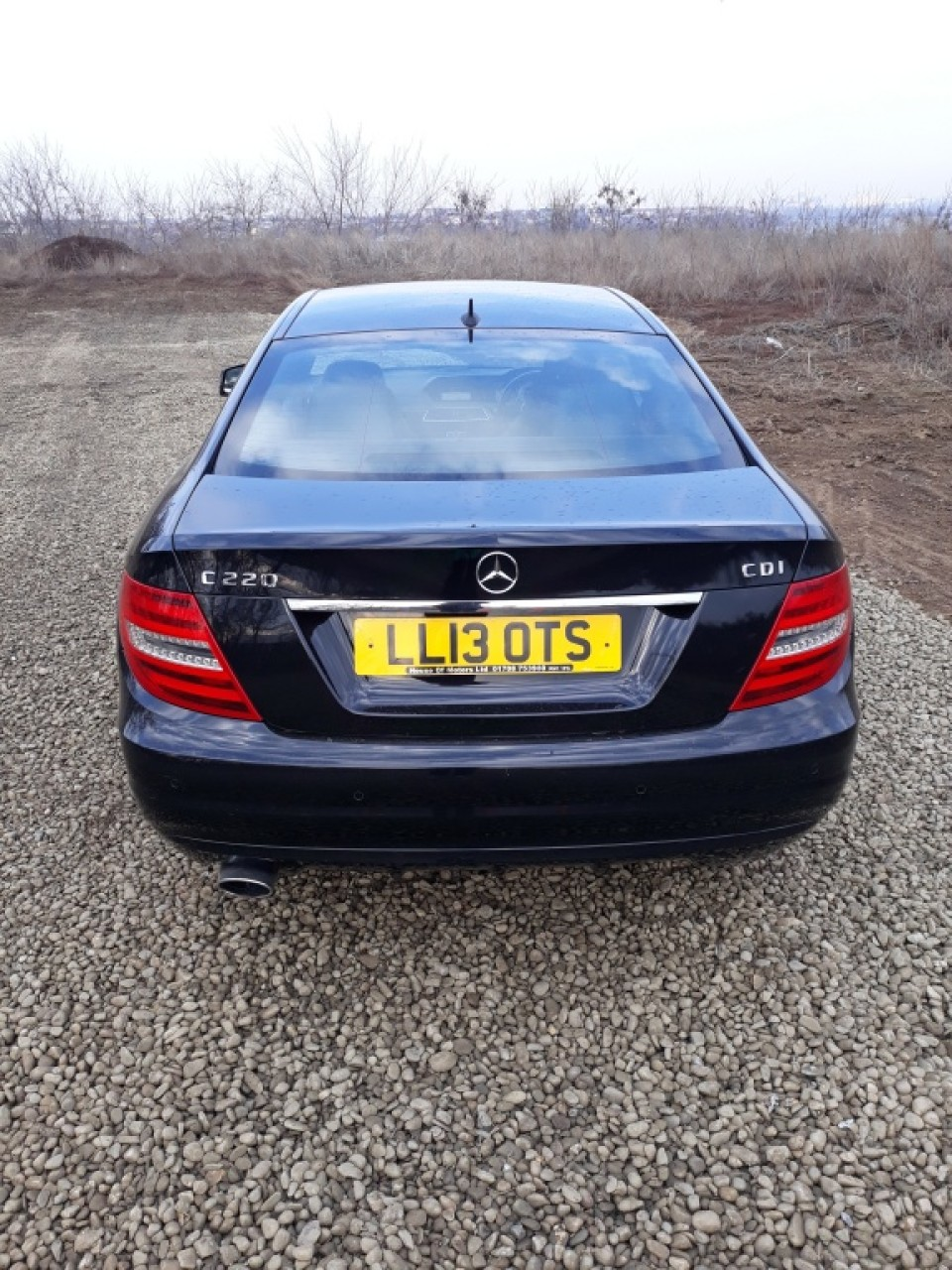 Far dreapta Mercedes C-CLASS W204 2013 coupe 2.2