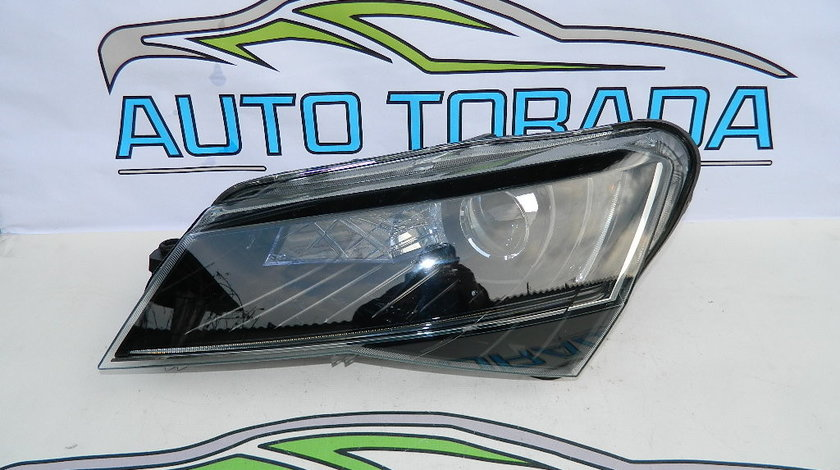 Far stanga bi-xenon Led Skoda Superb 3 model 2015-2018 cod 3V1941015B