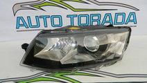 Far stanga bi-xenon Skoda Octavia 3 model 2011-201...