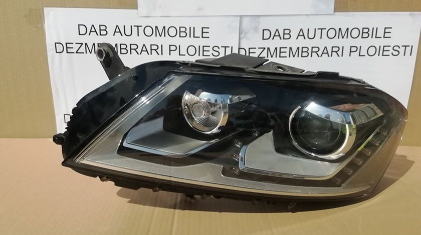 Far stanga bixenon adaptiv led VW Passat B7 dupa 2011 cod 3AB941751