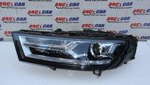 Far stanga bixenon LED Audi Q7 4M USA cod: 4M09410...