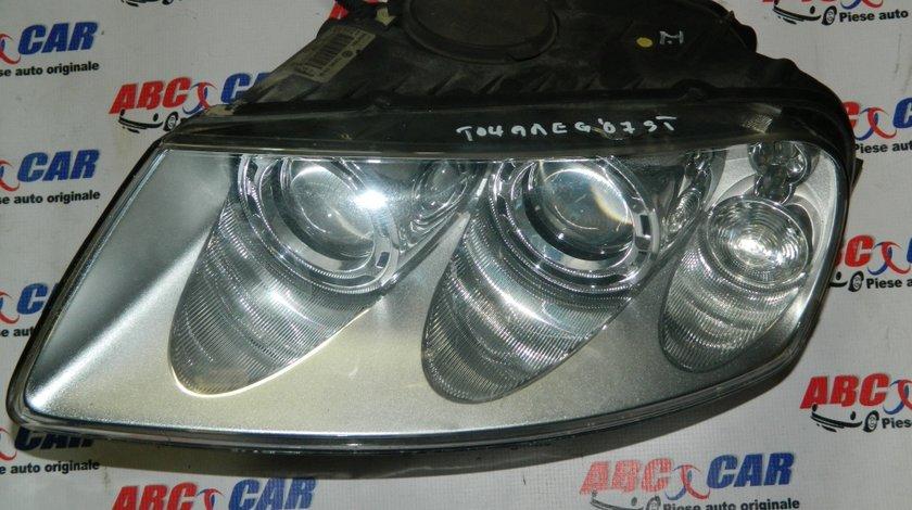 Far stanga cu xenon VW Touareg 7L 2003-2010 cod: 7L6941015BK