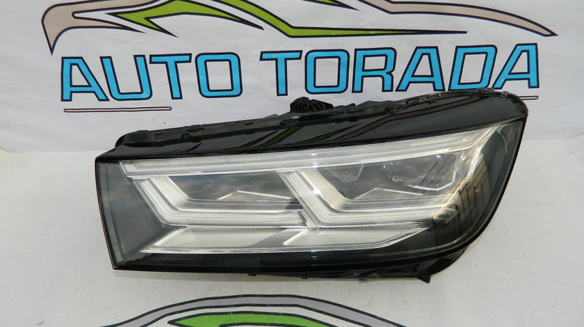 Far stanga FULL LED Audi Q5 Matrix model 2016-2019 cod 80A941033