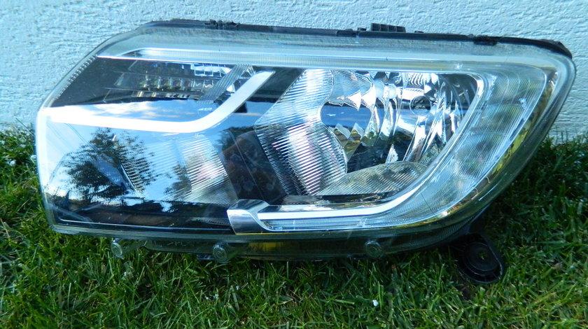 Far stanga LED continuu Dacia Logan 2018 model Rusia
