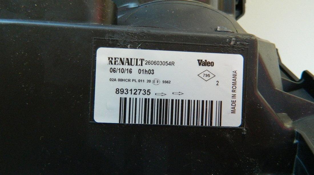 Far stanga Renault Megane 2 Facelift original NOU cod 89312735
