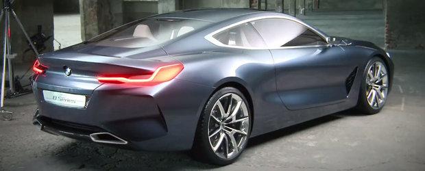 Fara Photoshop sau alte 'pacaleli': Uite cum arata in realitate noul BMW Seria 8