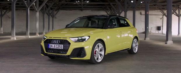 Fara Photoshop sau alte trucuri. Uite cum arata pe viu cea mai ieftina masina de la Audi