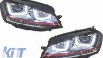 Faruri 3D LED Volkswagen Golf 7 VII (2012-up) R20 ...