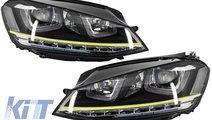 Faruri 3D LED Volkswagen Golf 7 VII (2012-up) R400...