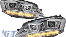 Faruri 3D LED Volkswagen Golf VII (2012-up) R-Line...
