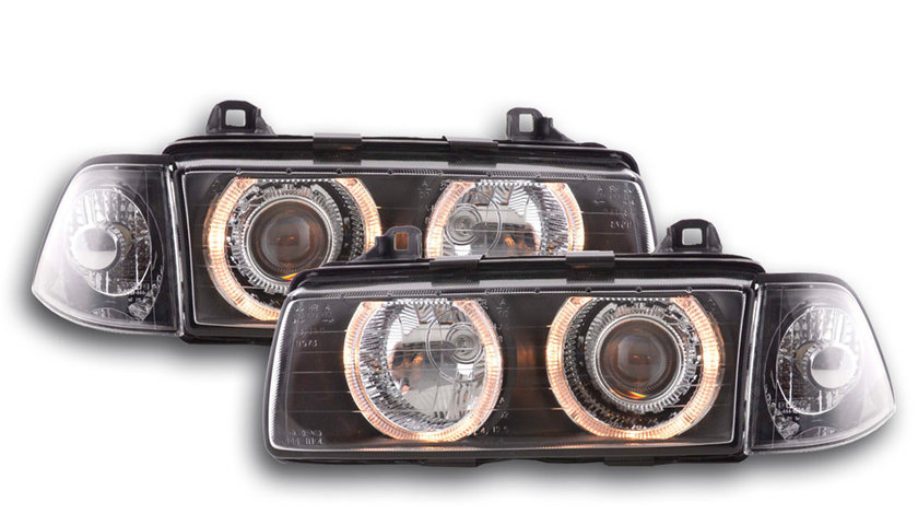 Faruri Angel Eyes BMW E36 Seria 3 Coupe Cabrio