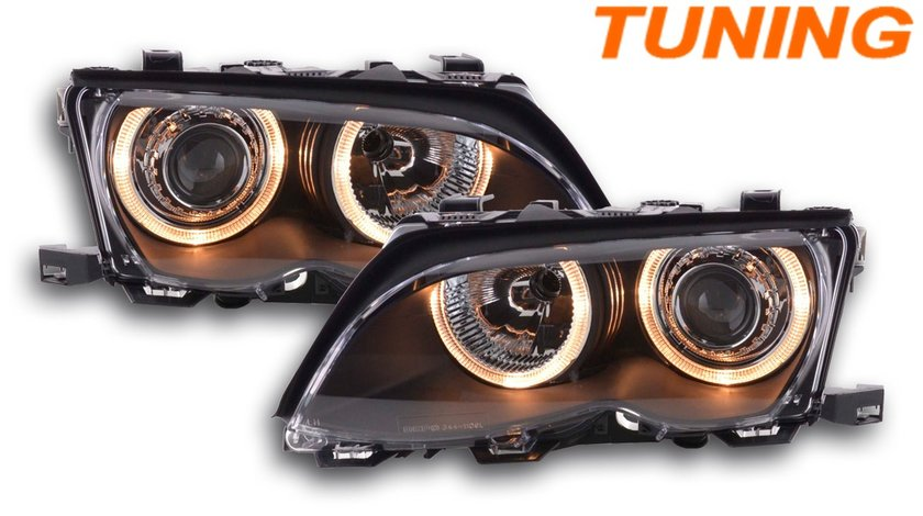 FARURI ANGEL EYES BMW E46 (01-05) BLACK