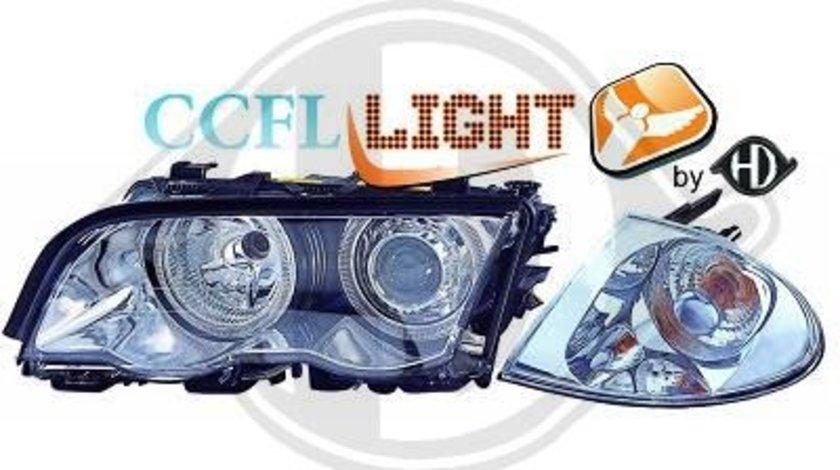 FARURI ANGEL EYES BMW E46(CCFL) FUNDAL CROM -COD 1214380