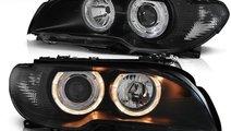 Faruri angel eyes BMW E46 coupe facelift