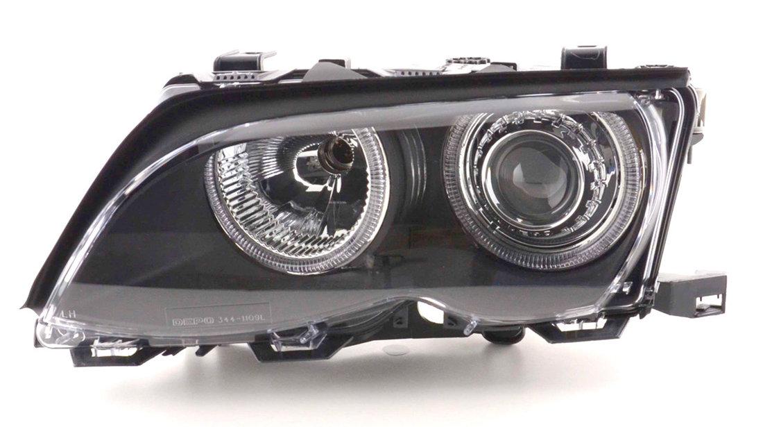 Faruri angel eyes bmw e46 facelift