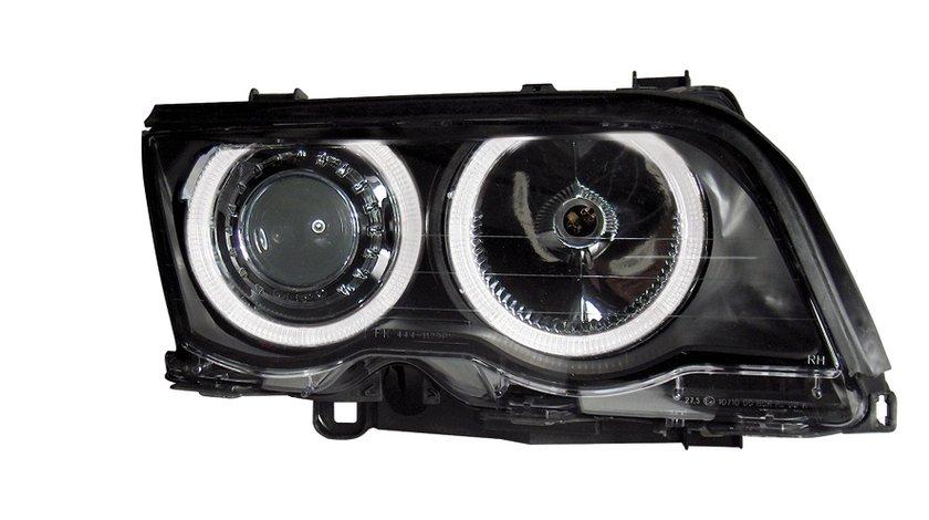 FARURI ANGEL EYES BMW E46 FUNDAL BLACK -COD FKFSXBM127