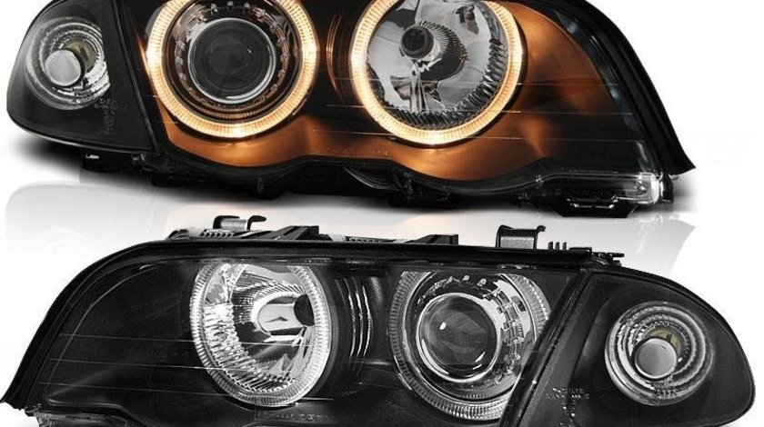 Faruri angel eyes BMW E46