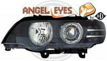 FARURI ANGEL EYES BMW E53 X5 FUNDAL NEGRU
