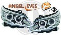 FARURI ANGEL EYES BMW E60 FUNDAL CROM -COD 1224480