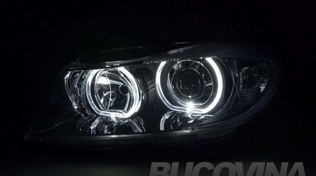 FARURI ANGEL EYES BMW E90/ E91 (05-11) BLACK