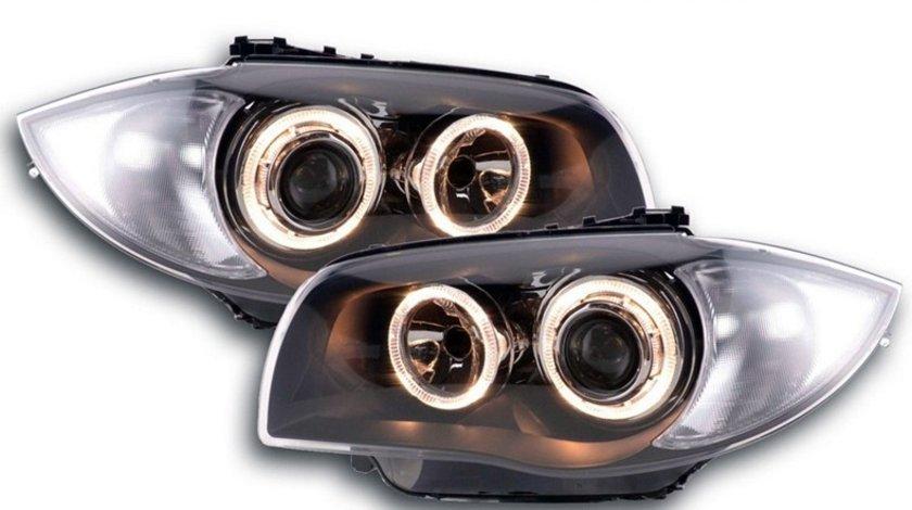 Faruri Angel Eyes BMW Seria 1 E81, E82, E87, E88 (2004-2012)