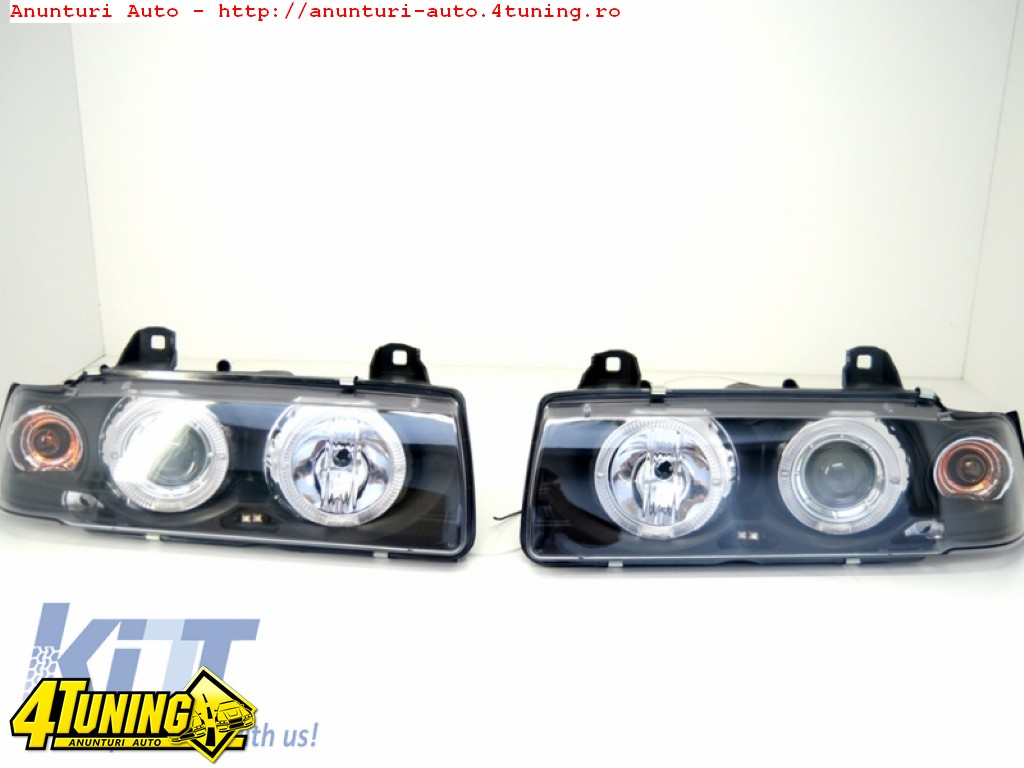 Faruri Angel Eyes BMW Seria 3 e36 540lei