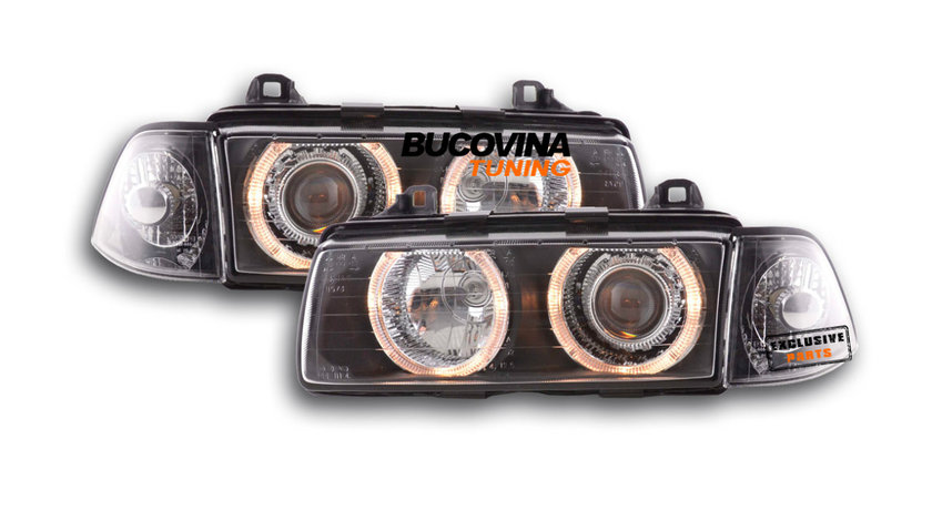 Faruri Angel Eyes BMW Seria 3 E36 Coupe/ Cabrio (91-98)