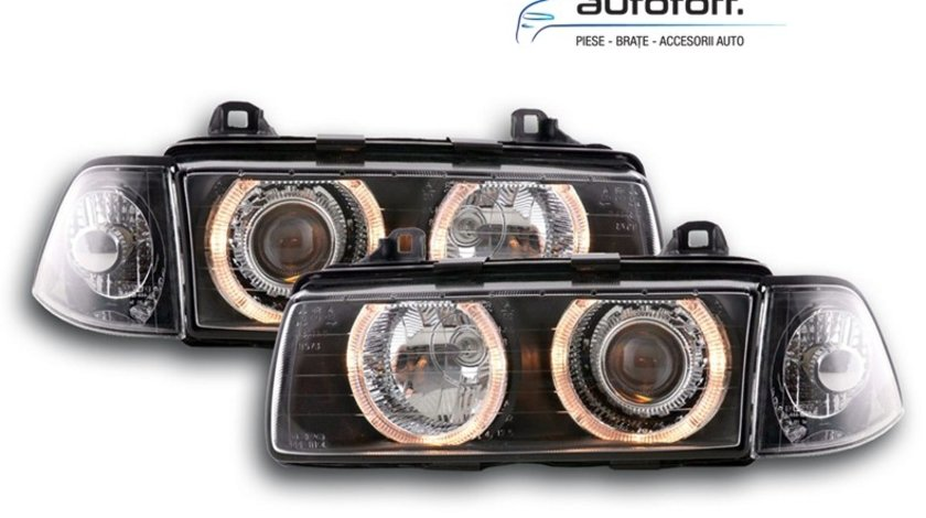 Faruri Angel Eyes BMW Seria 3 E36 Coupe/Cabrio (1991-1998)