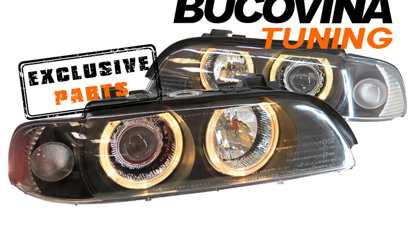 Faruri Angel Eyes BMW Seria 5 E39 (95-03) Xenon